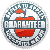 100% Price Match Guaranteed