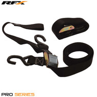 RFX Pro Series Heavy Duty 1.5 Tie Downs with extra loop & carabiner clip