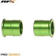 RFX Pro Wheel Spacers Front (Green) Kawasaki KX125/250 06-08 KXF250/450 06-17