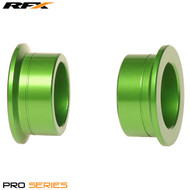 RFX Pro Wheel Spacers Rear (Green) Kawasaki KX125/250 03-08 KXF250/450 04-17