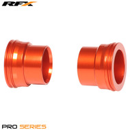 RFX Pro Wheel Spacers Front (Orange) KTM All Models 125-525 03-14