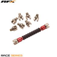 RFX Race Spoke Key Interchangeable Multi Tip Type Sizes 5.4mm-7.0mm Red