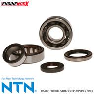 Engineworx Crankshaft Bearing & Seal Kit Kawasaki KX250 87-01 KDX250 91-94