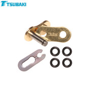 Tsubaki Replacement MX Alpha -XRG- (Gold/Black) 520 Spring link
