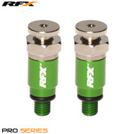 RFX Pro Fork Air Bleeders M5x0.8 (Green) Kayaba/Showa