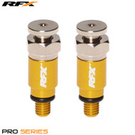 RFX Pro Fork Air Bleeders M5x0.8 (Yellow) Kayaba/Showa
