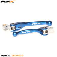 RFX Race Series Forged Flexible Lever Set (Blue) Yamaha YZ125/250 08-14 YZF250 07-08 YZF450 08 Kawasaki KXF250/450 13-17