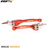 RFX Race Series Forged Flexible Lever Set (Orange) KTM  SX 65 12-13
