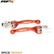 RFX Race Series Forged Flexible Lever Set (Orange) KTM  SX125/150 16-17 SX/SXF 250-505 14-17 EXC Models 2017