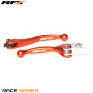 RFX Race Series Forged Flexible Lever Set (Orange) KTM SX125/150/200 14-15