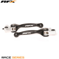 RFX Race Series Forged Flexible Lever Set (Black) AJP Trials All (Not Sherco)