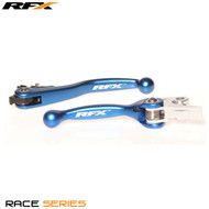 RFX Race Series Forged Flexible Lever Set (Blue)  Husqvarna TC/TE 125 14-15 Husqvarna MX 16-17 Husqvarna Enduro 2017