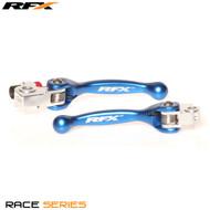 RFX Race Series Forged Flexible Lever Set (Blue) TM 125/250/250FI/450FI 02 13-17