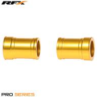 RFX Pro Wheel Spacers Front (Yellow) Suzuki RM125/250 01-08