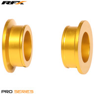 RFX Pro Wheel Spacers Rear (Yellow) RM125/250 01-08