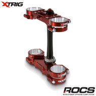 Xtrig ROCS Pro Triple Clamp Set Yamaha YZ125 2T 06-16 (OS 25-23mm) M12