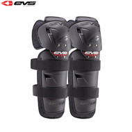 EVS Option Knee Guards Youth (Black) Pair Size Youth
