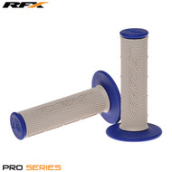 RFX Pro Series 20500 Dual Compound Grips Grey Centre (Grey/Blue) Pair