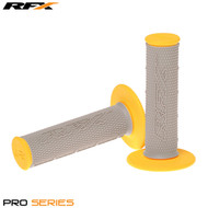 RFX Pro Series 20500 Dual Compound Grips Grey Centre (Grey/Yellow) Pair