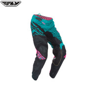 Fly 2016.5 Kinetic Mesh Youth Pant Trifecta Teal/Pink/Black