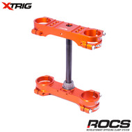 Xtrig ROCS Tech Triple Clamp Set (Orange) KTM SX85 03-17 (14mm offset) M12