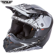 Fly F2 Carbon Mips Retrospec Adult Helmet Matte White/Black
