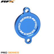 RFX Pro Oil Filter Cover (Blue) Kawasaki KXF450 16>On
