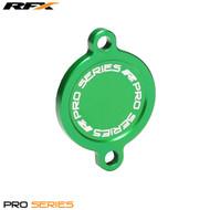 RFX Pro Oil Filter Cover (Green) Kawasaki KXF450 16>On