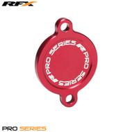 RFX Pro Oil Filter Cover (Red) Kawasaki KXF450 16>On