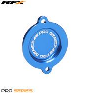 RFX Pro Oil Filter Cover (Blue) Husqvarana FE/FC450 14-15 KTM SXF450 13-15