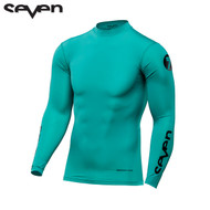 Seven MX 17.1 Zero Adult Compression Jersey (Aqua)