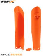 RFX Fork Guards KTM (Orange 16) SX125/150 15>On SXF250/350/450 15>On EXC/EXCF 250-500 17>On