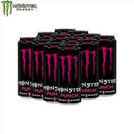 Monster Energy Drink (Punch) Case 12 x 500ml