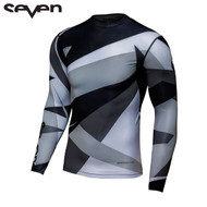 Seven MX 18.1 Zero Adult Compression Jersey (Battleship Grey/Black)