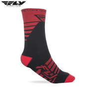 Fly 2018 Factory Rider Adult Sock (Red/Black)