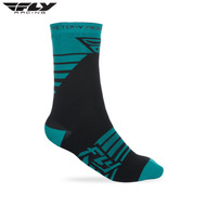 Fly 2018 Factory Rider Adult Sock (Teal/Black)