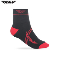 Fly 2018 Action Adult Sock (Red/Black)