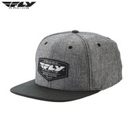 Fly FlexFit Hat (Pathfinder Heather Grey) Size OSFA