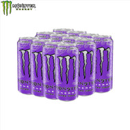 Monster Energy Drink (Ultra Violet) Case 12 x 500ml