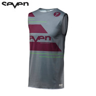 Seven MX 18.3 Zero Adult Odyssey Over Jersey (Grey/Maroon)
