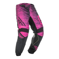 Fly 2019 Kinetic Noiz Youth Pant (Neon Pink/Black)