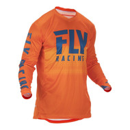 Fly 2019 Lite Hydrogen Adult Jersey (Orange/Navy)