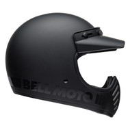 Bell Cruiser 2019 Moto 3 Adult Helmet (Blackout Matte/Gloss Black)