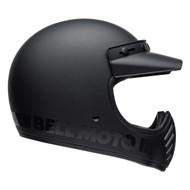 Bell Cruiser 2019 Moto 3 Adult Helmet (Blackout Matte/Gloss Black)