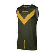 Seven MX 19.1 Zero Adult Victory Over Vest (Olive/Orange)