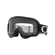 Oakley 2018 O Frame MX Goggle Adult (Jet Black) Clear Lens
