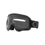 Oakley 2018 O Frame MX Goggle Adult (Matte Carbon Fiber) Clear Lens