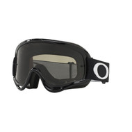 Oakley 2018 O Frame Sand MX Goggle Adult (Jet Black) Dark Grey Lens Inc Clear Lens