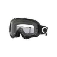 Oakley XS O Frame MX Goggle (Jet Black) Clear Lens