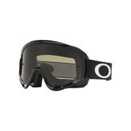 Oakley XS O Frame Sand MX Goggle (Jet Black) Clear & Dark Grey Lens